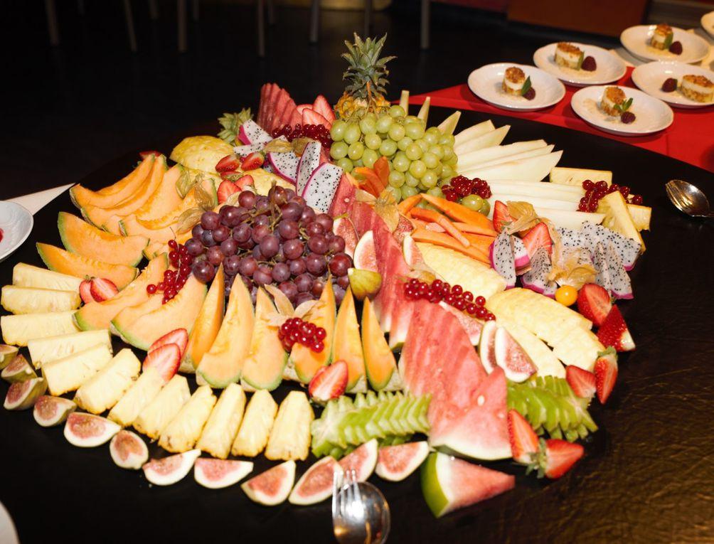 Küchenchef Martin Eberle und sein Team verwöhnte die Gäste mit Spezialitäten vom kalt-warmen Buffet.