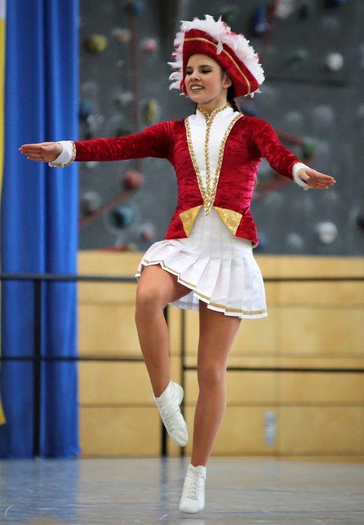 Tanzmariechen - Plätze 5 bis 7: Jana Kowalyk, Jana Hochstein, Annabell Weßner