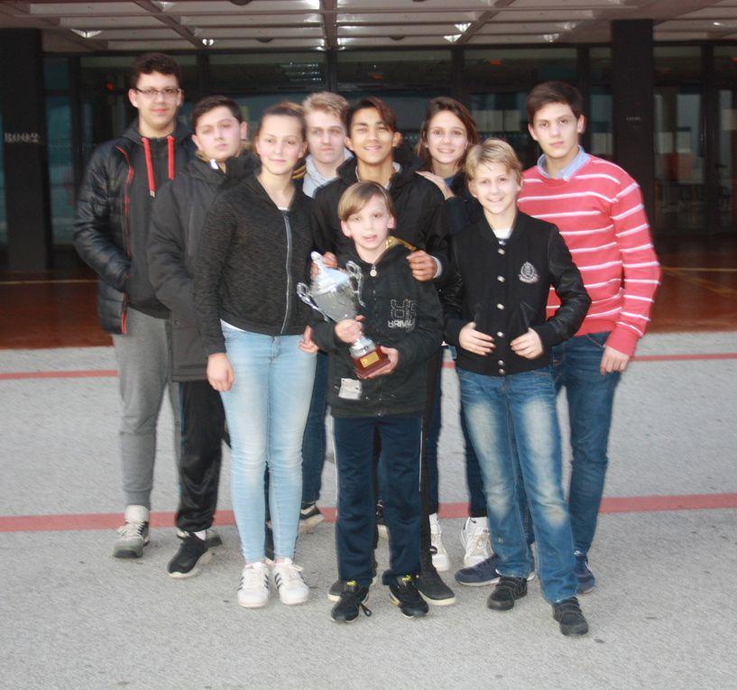 2017 - Championnat des collèges à Cogolin