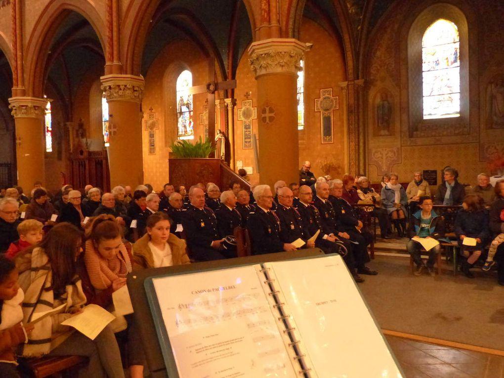Messe des pompiers à Castelmoron - dimanche 12 février 2017
