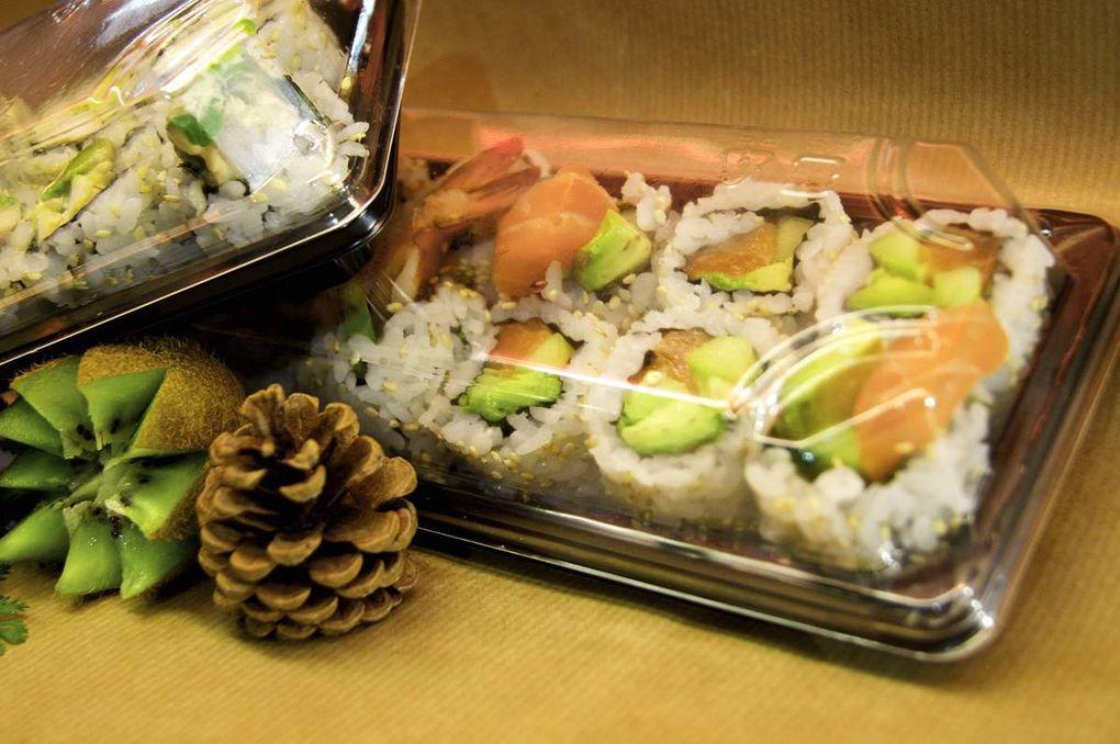 Vos sushis Wokn'rolls.