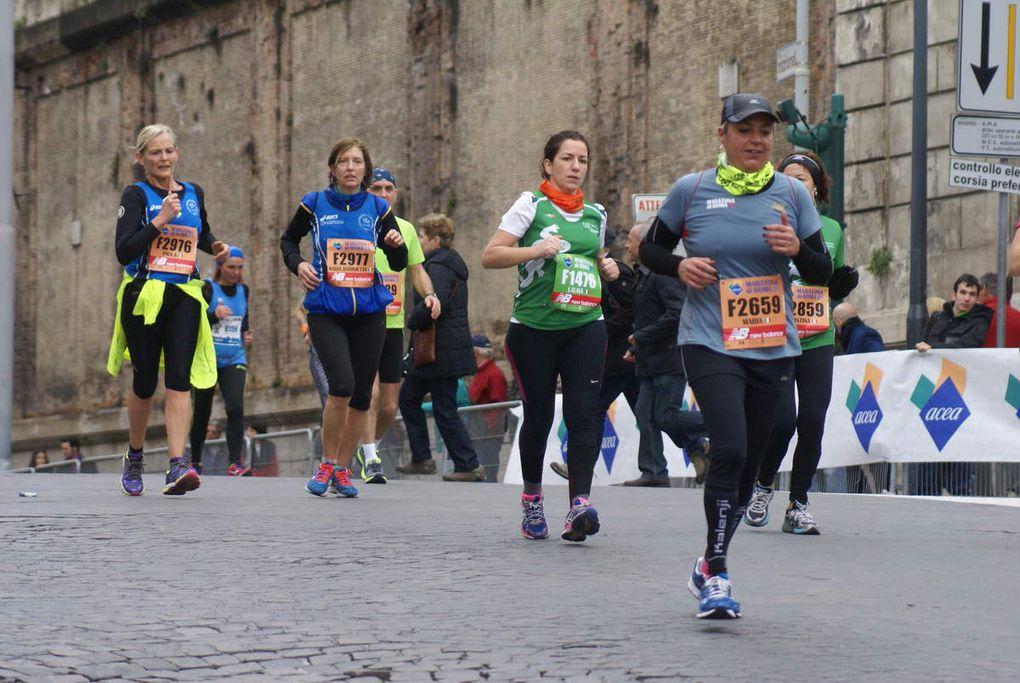 Foto di Maurizio Crispi lungo il percorso di gara
