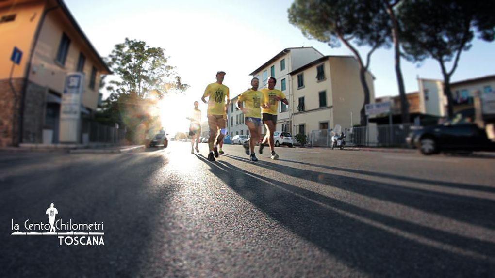 100 km di Toscana (edizione zero). Dieci ardimentosi hanno testato il percorso: esperienza positiva