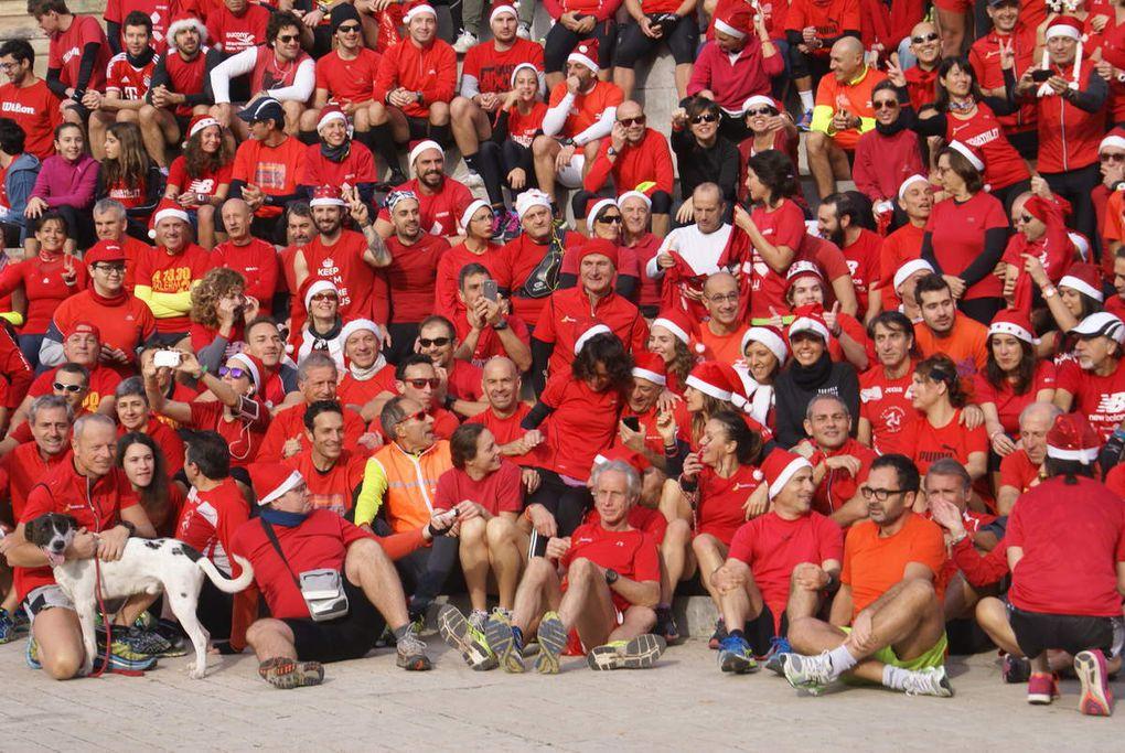 Christmas Run a Palermo 2015. Kermesse natalizia del running a Palermo. Una tradizione destinata a crescere ancora