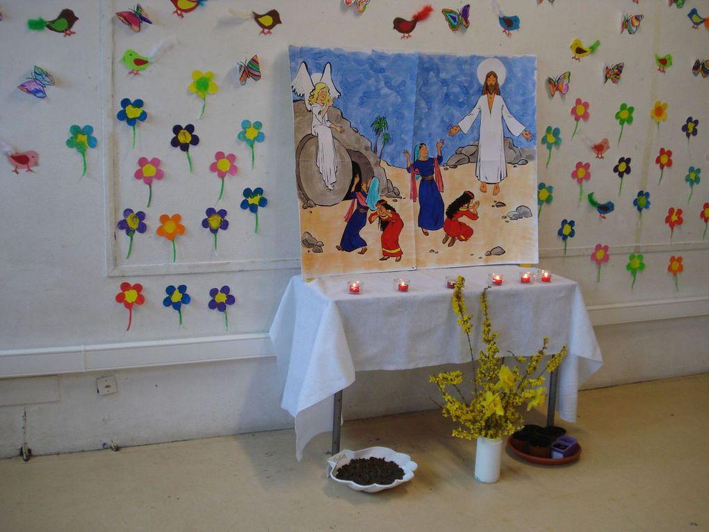 Z-Célébration de Pâques en maternelle 2015