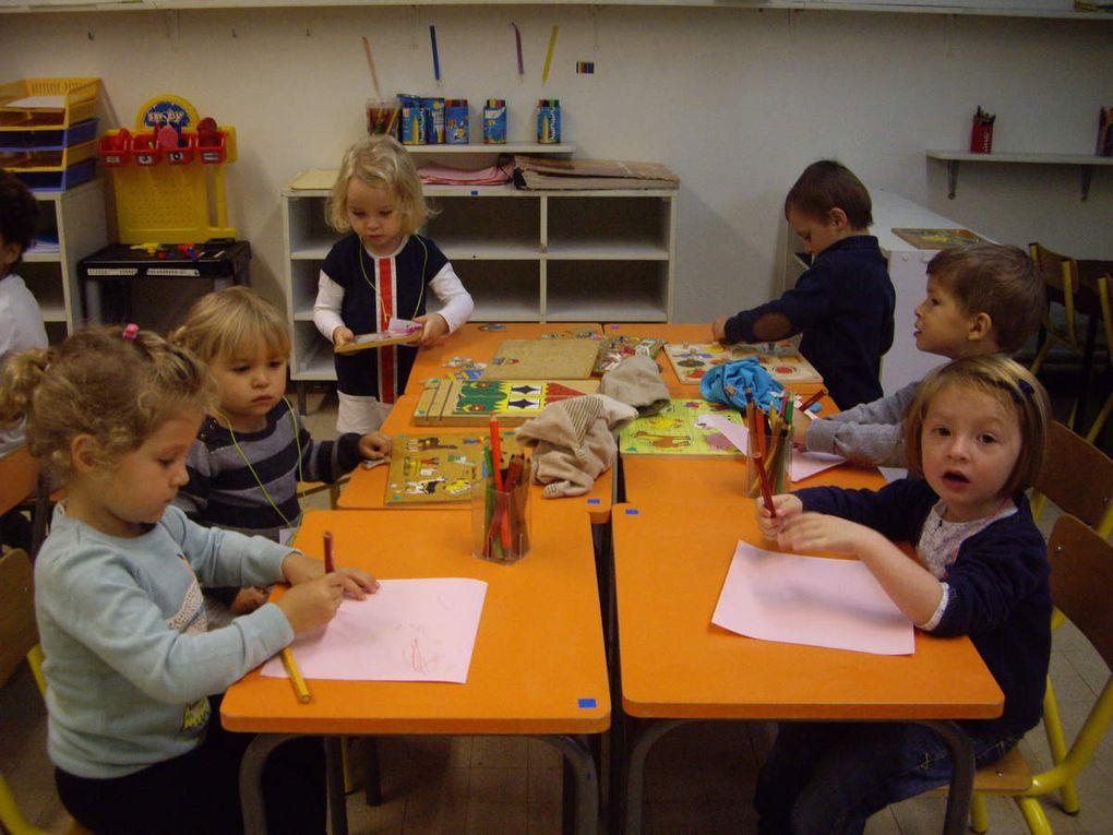99- Premiers jours d'école dans la classe de TPS/PS  2015