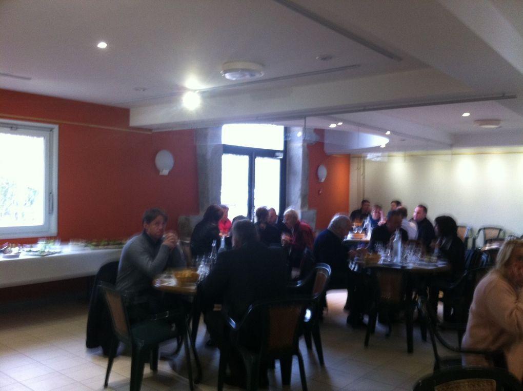 au Golf de Savigneux, journée de formation au Départementales : Communication, Finances et Conseil Général.