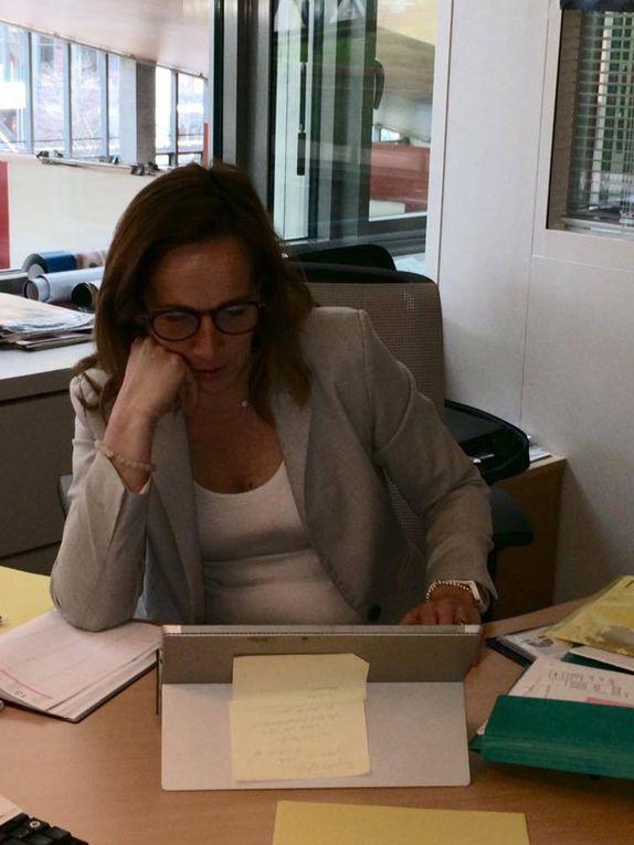 Journée militante pour votre Secrétaire Départementale Sophie Robert !
