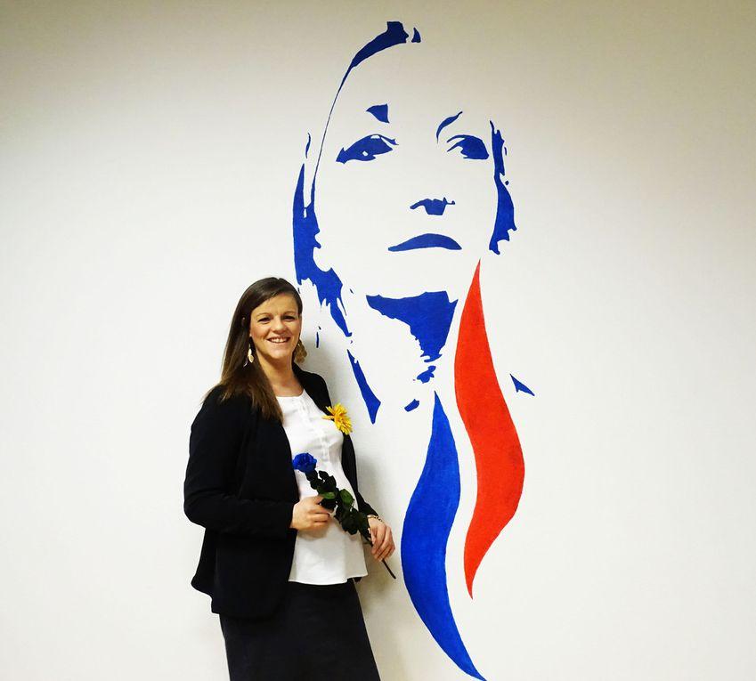 PHOTOS // Conférence de Presse : Pour un vrai féminisme avec Marine Le PEN
