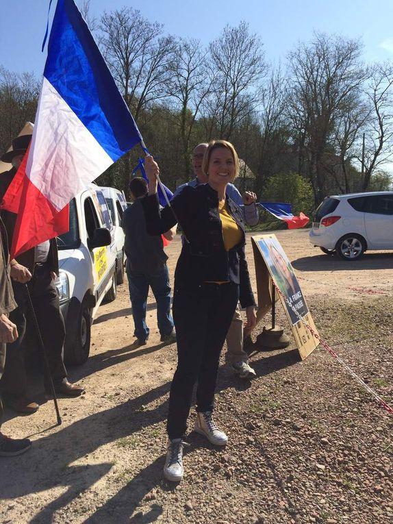 La 5ième Circonscription et ses dîners-caravane : 24h de marathon FRONT pour Marine Le Pen !