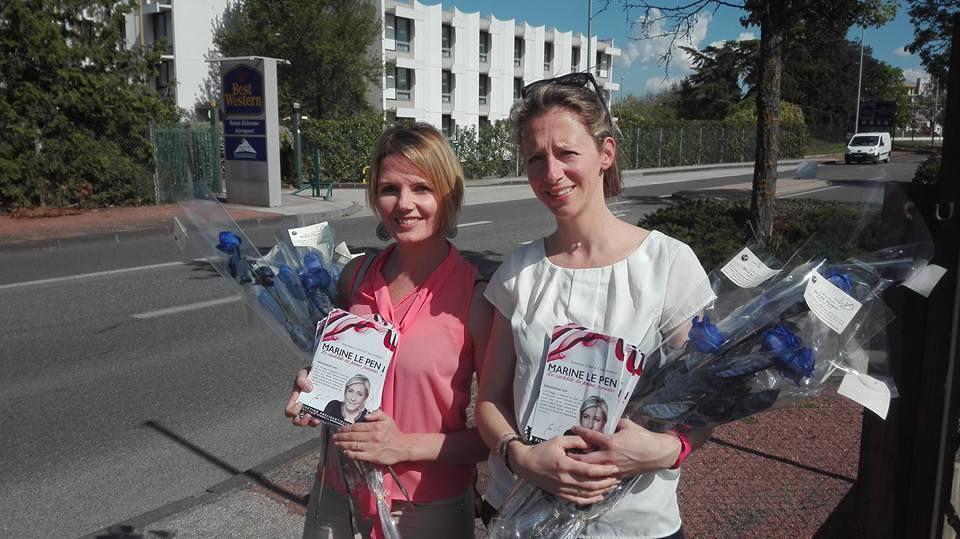 Les femmes de la Loire avec Marine Le Pen, la candidate des femmes françaises !