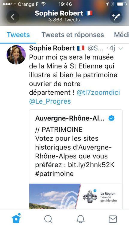Polémique des quartiers perdus à Saint-Etienne : Sophie ROBERT leur répond !