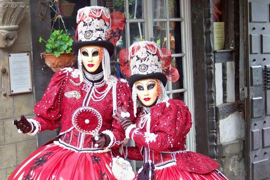 Les mascarades de Dives sur Mer......