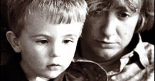Françoise Sagan et fils