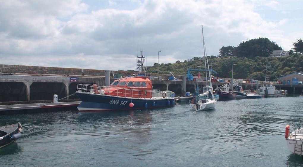 Journée détente à l'île de Groix, l'île aux grenats