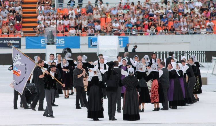 Un spectacle à voir et revoir : la grande parade du festival interceltique