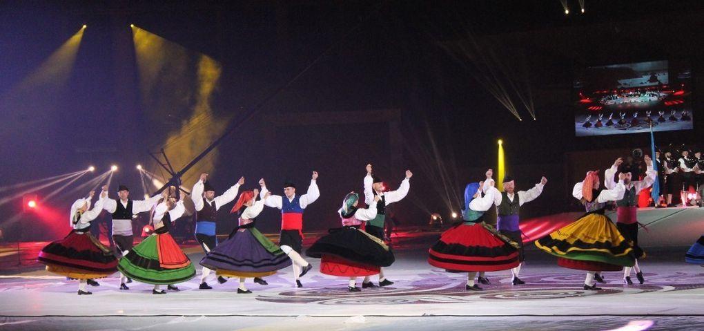 Un autre spectacle majeur du festival lorientais : la nuit celtique