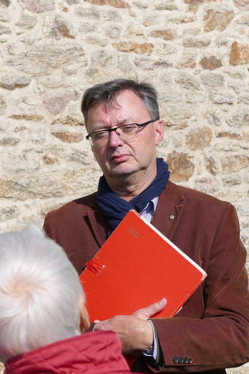 Visite de la chapelle le 26 septembre 2015. Chapelle de Locmaria er Hoët, Landévant. Photographie lavieb-aile.