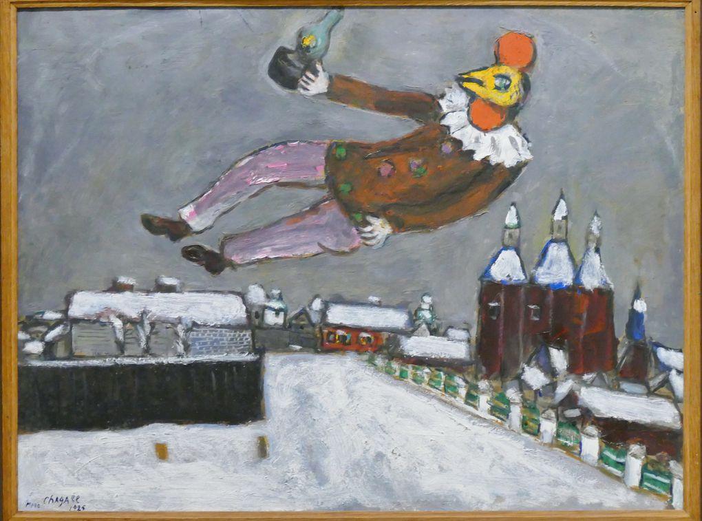 Quelques Coqs de Chagall, photographie lavieb-aile.