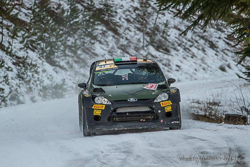 Rallye de Monte Carlo 2015 Spéciale n°1-10 et 12