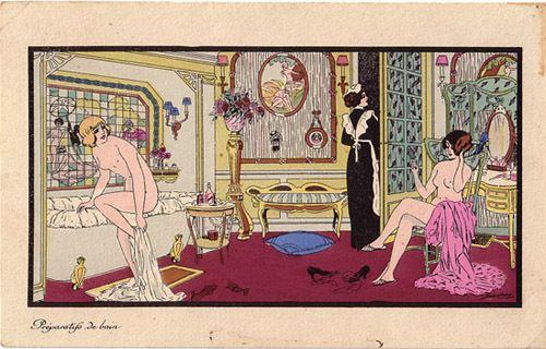 Il y a cent ans: Des cartes de Xavier Sager.