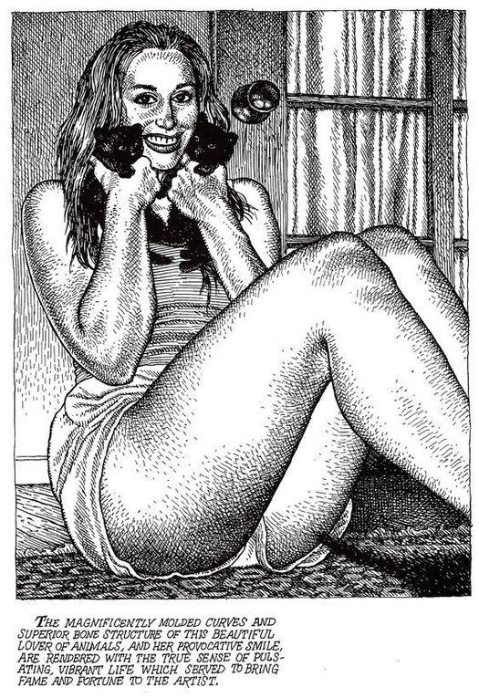 La femme de Robert Crumb