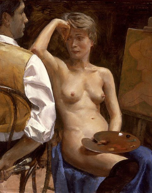 Andrew Conklin, peintre.