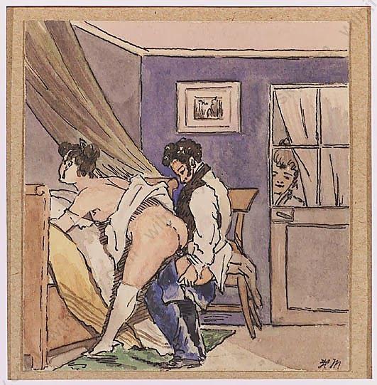 Scènes de vie bourgeoise -1828-