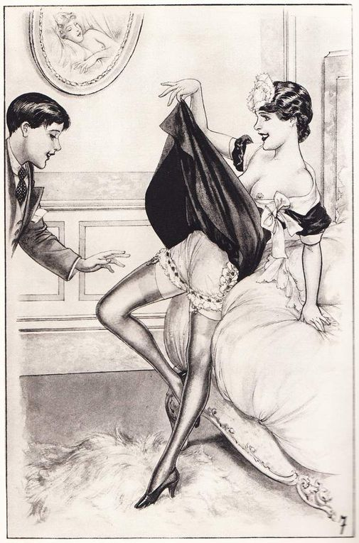 Les Confidences de Chérubin - illustrées par Chéri Herouard
