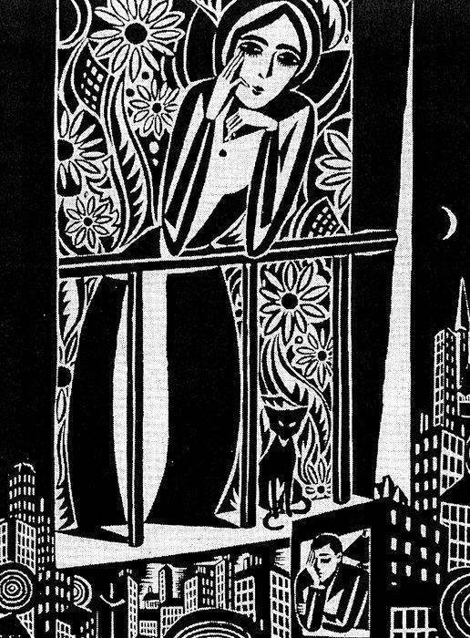 Frans Masereel (1889 - 1972) peintre, graveur sur bois, illustrateur - gravure sur bois -