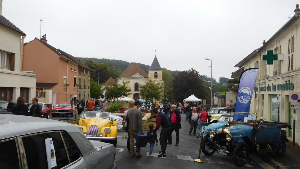 Brocante à Andilly...