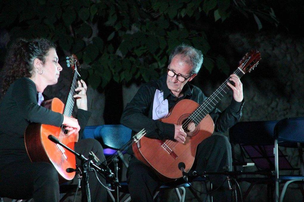 le XVIIème FESTIVAL de GUitare de Lambesc a eu lieu au parc BERTOGLIO