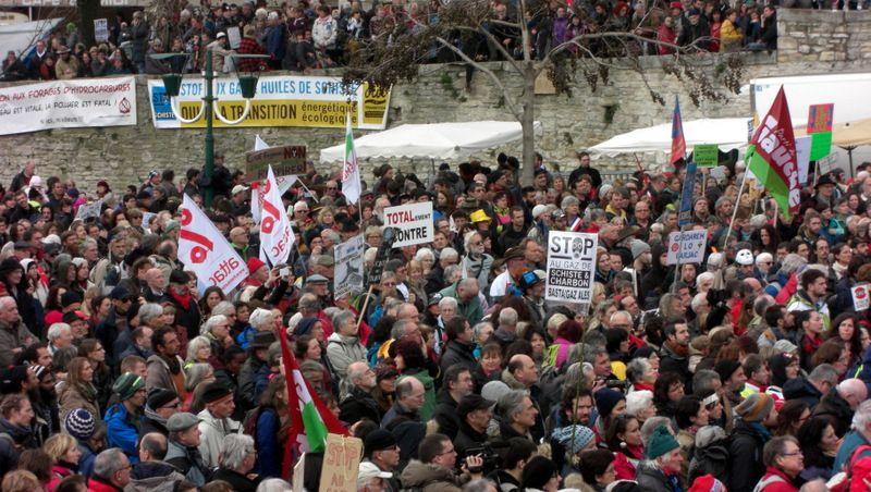 Marche de Barjac le 28 février
