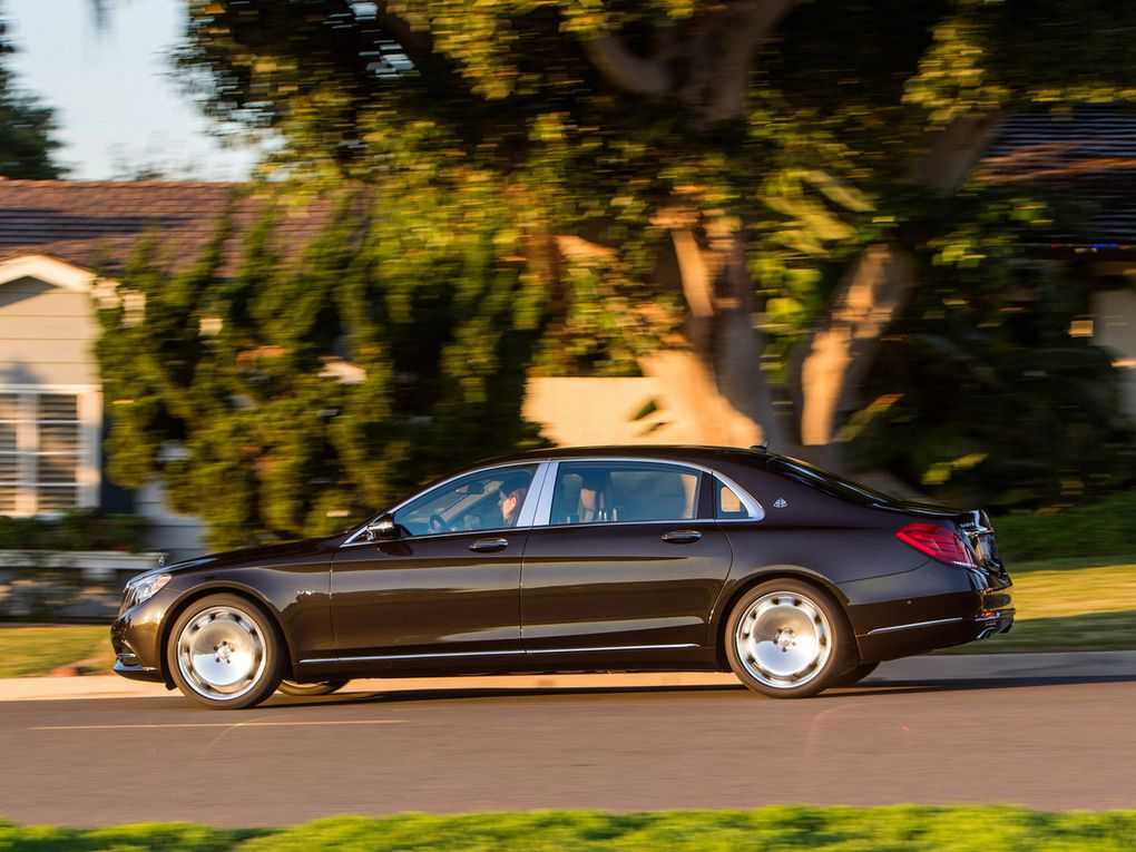 VOITURES DE LEGENDE (498) : MAYBACH MERCEDES  S600  USA - 2015