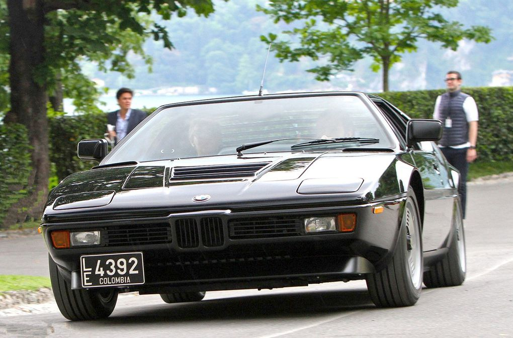 VOITURES DE LEGENDE (550) : BMW &quot&#x3B;M1&quot&#x3B; GIUGIARO COUPE - 1980