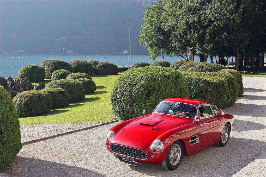 VOITURES DE LEGENDE (549) : FIAT  8V  VIGNALE BERLINETTA - 1954