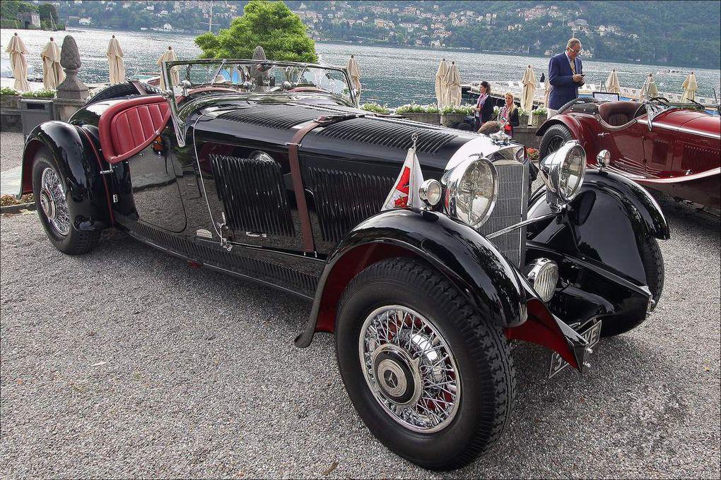 VOITURES DE LEGENDE (551) : MERCEDES-BENZ  380 SPEZIAL ROADSTER  ERDMANN &amp&#x3B; ROSSI - 1933