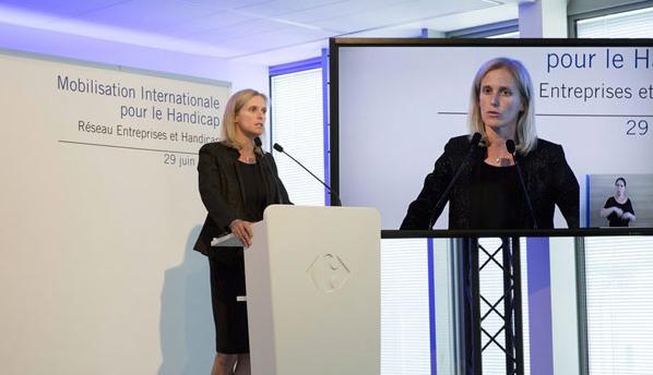 Discours de Ségolène Neuville - Mobilisation internationale pour le handicap