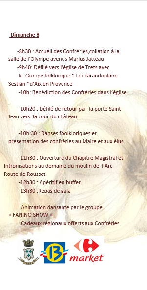 INVITATION CHAPITRE DES CHEVALIERS DE L'AIET
