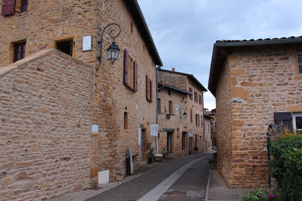 Oingt , plus beau village de France