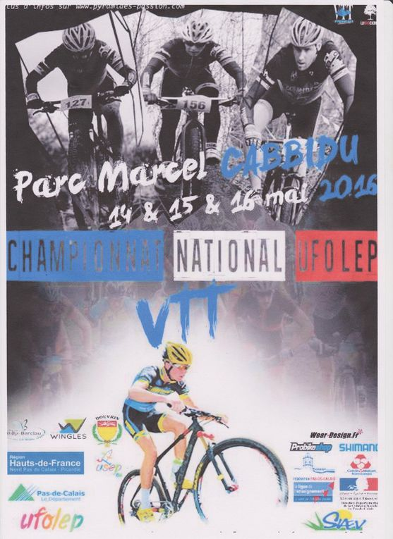 VCO - AFF National Vtt Xc Ufolep 2016
