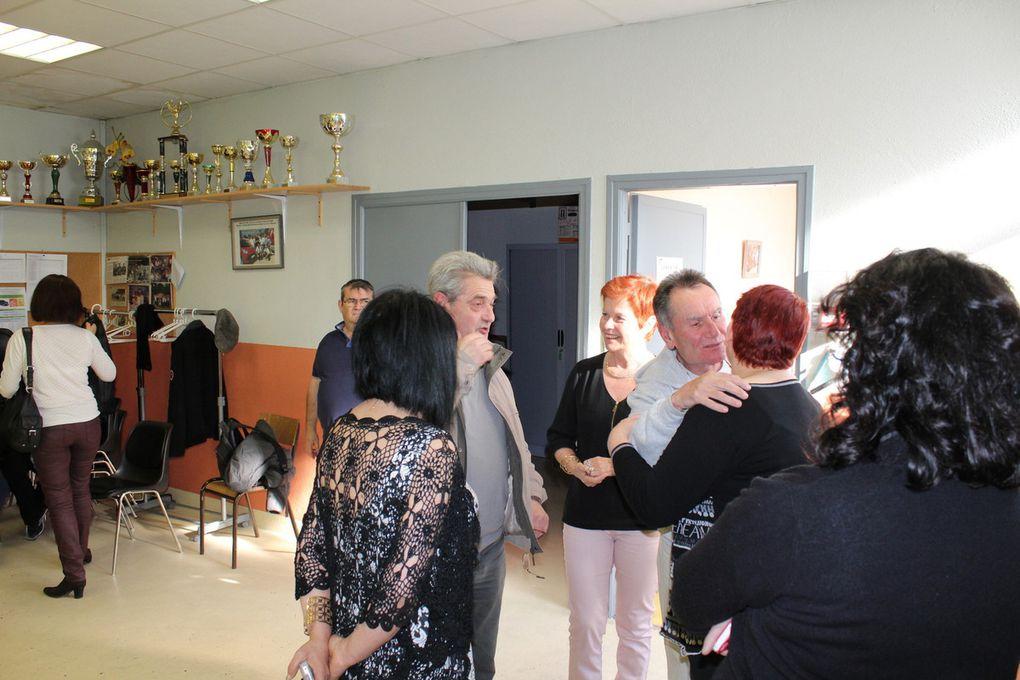 Le Maire d'Alès a honoré Jean-Louis Chaudanson !