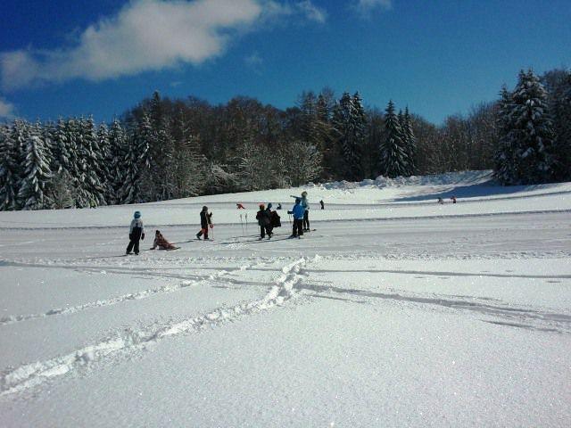 Première fois au ski de fond