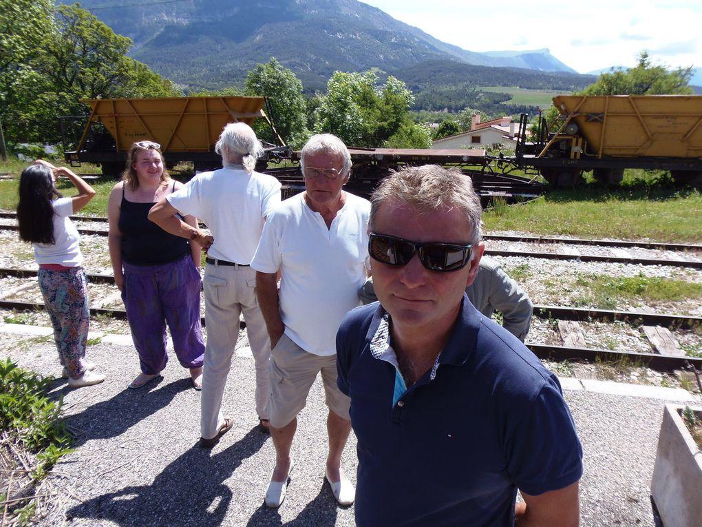 Album train des pignes Dignes Entrevaux via Annot juin 2016