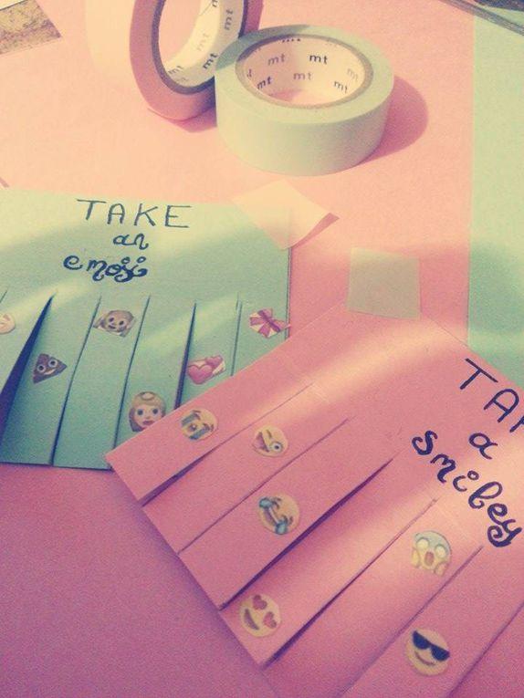 D I Y | Take a smile !