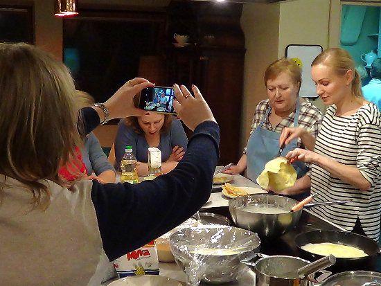 Cuisine russe : blinis rouges