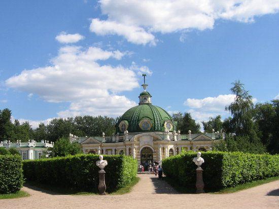 Moscou : le domaine de Kouskovo