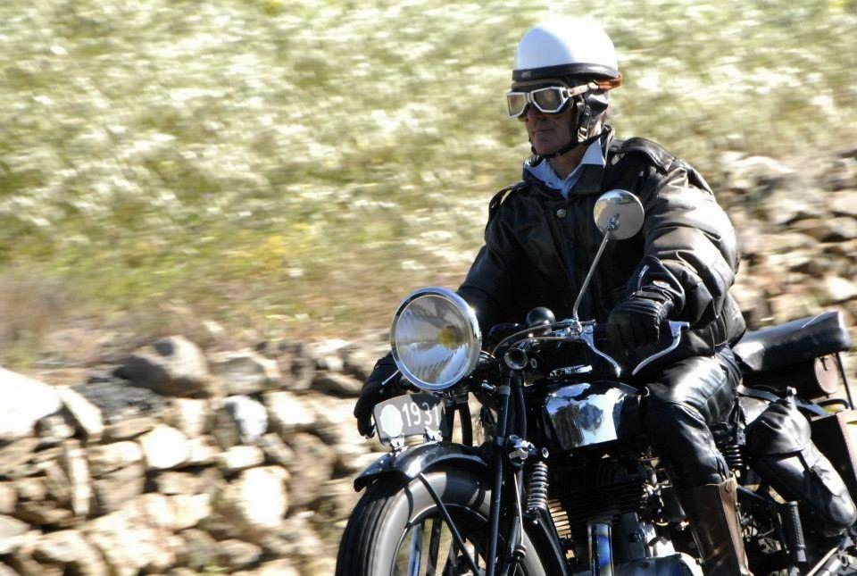 Les motos dans les Aspres, Mai 2015