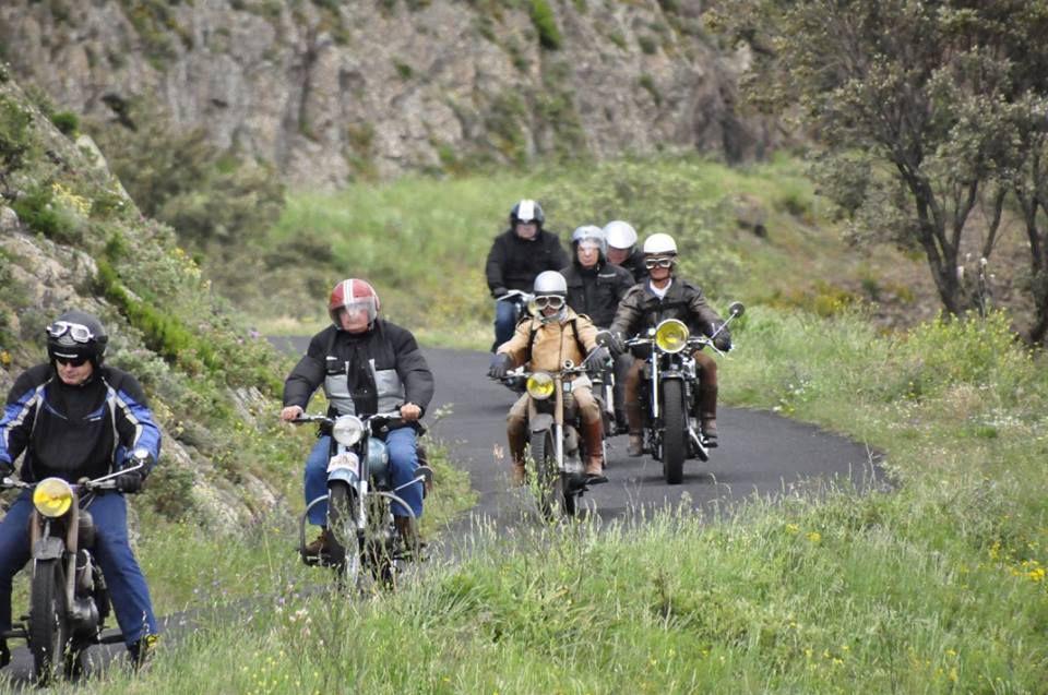 La côte Vermeille à motos