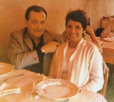 Images de mon arrivée à Nice. André M - Mon père et deux collègues de bureau